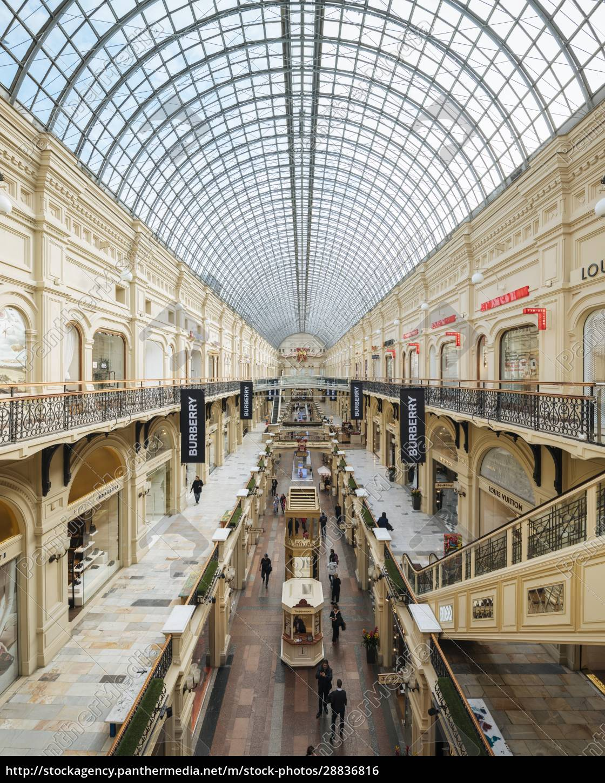 interior, of, gum, shopping, center, , moscow, - 28836816