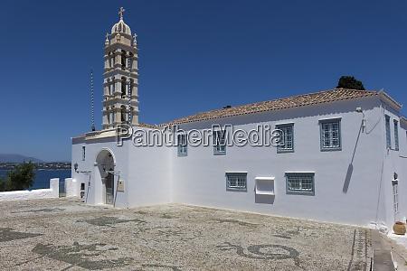 st nicholas monastery spetses saronic islands