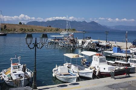 harbour perdika aegina saronic islands greek