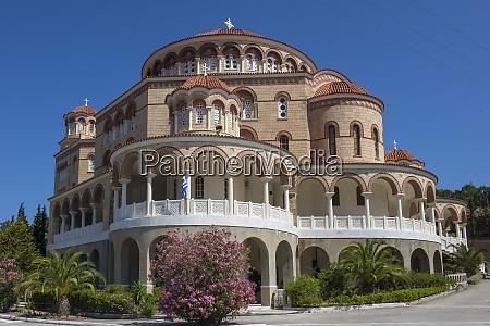 aghios nektarios monastery aegina saronic islands