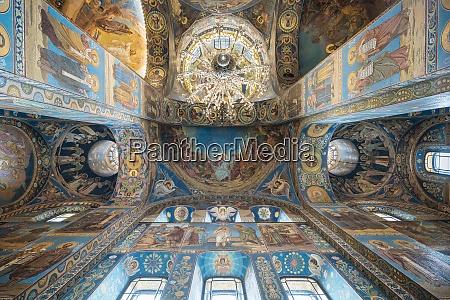 interior of church of the savior