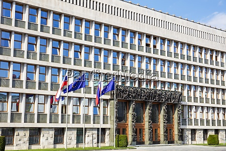 slovenian parliament national assembly building trg