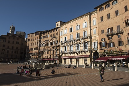 a view of piazza del campo