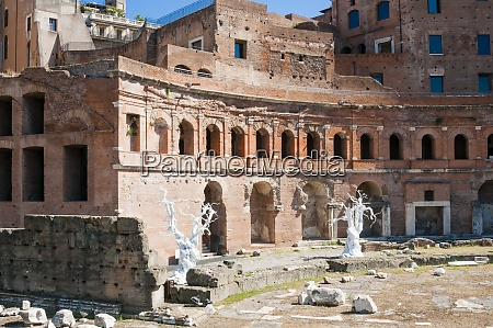 trajans forum unesco world heritage site