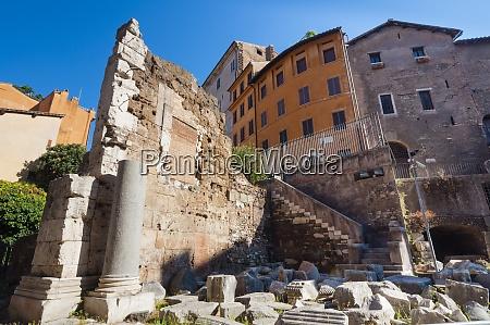 ruins of temple of bellona unesco