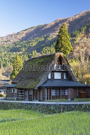 traditional houses of ainokura unesco world