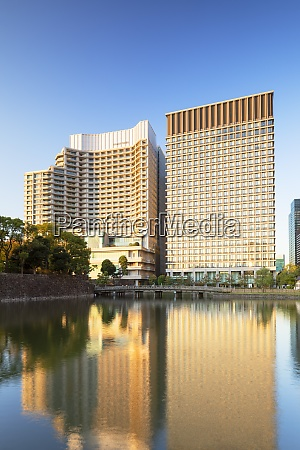 palace hotel and imperial palace moat