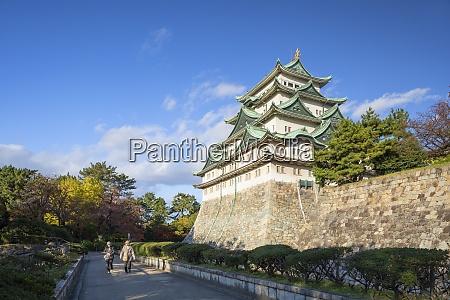 nagoya castle nagoya honshu japan asia