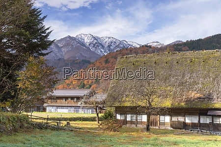 traditional houses of ogimachi unesco world