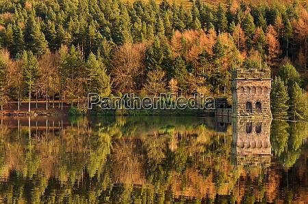 derwent dam ladybower reservoir autumn colours