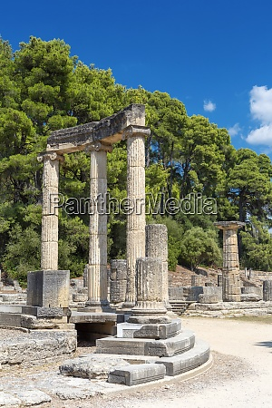 archaeological site of olympia unesco world