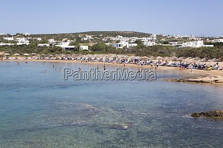 santa maria beach paros island cyclades
