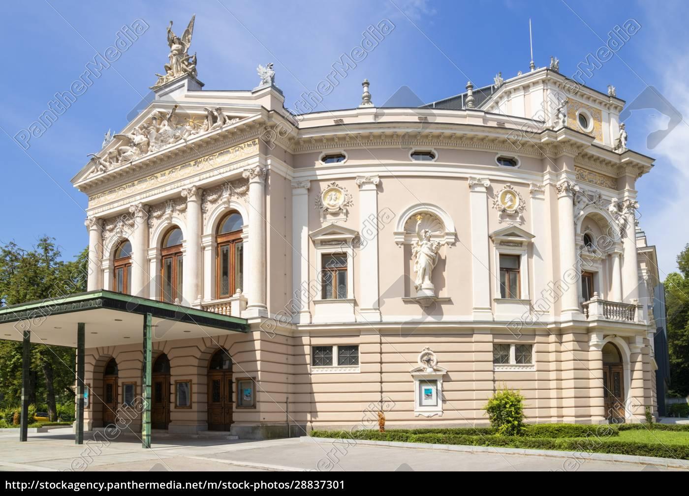ljubljana, opera, house, (slovenian, national, opera - 28837301