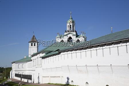outer walls spassky monastery unesco world