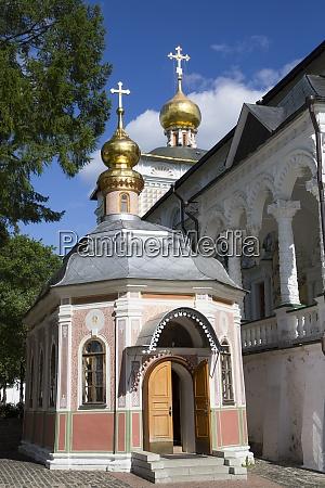 chapel the holy trinity st sergius