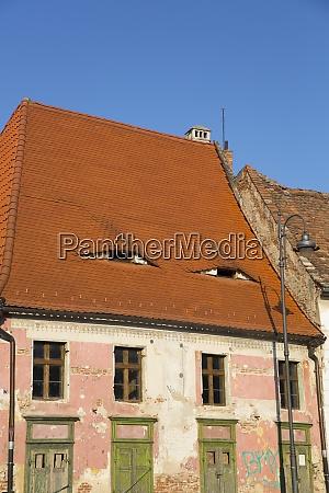 house with eyes sibiu transylvania region