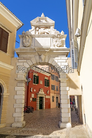 view of venetian balbi gate in