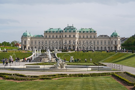 the upper belvedere vienna austria europe