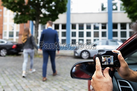private detective spying investigation and surveillance