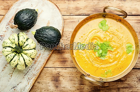 autumn pumpkin soup