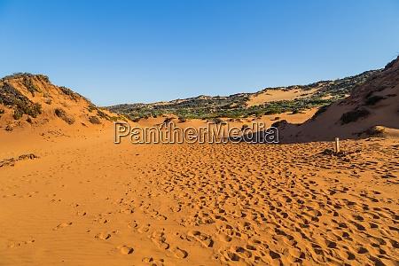 sandy coast at alentejo