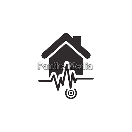 earthquake pictogram isolated icon weather vector