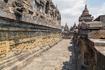 buddhist temple of borobudur