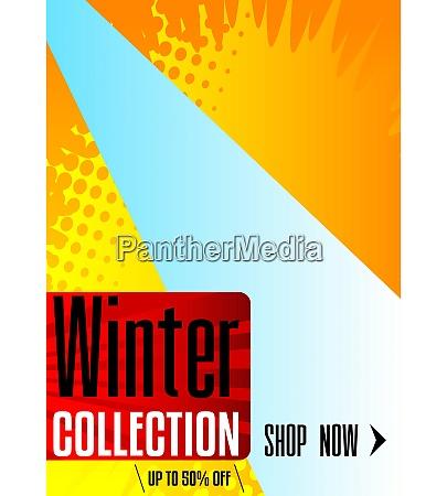 comic book winter sale social media