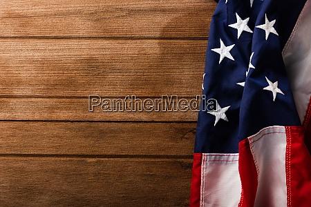 overhead america united states flag