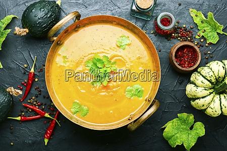 autumn, pumpkin, soup - 28848685
