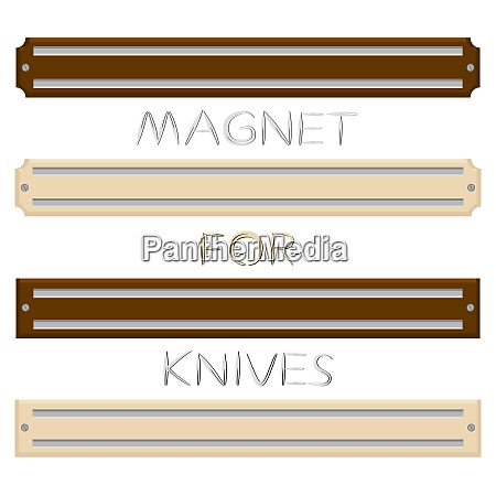 set different types magnets different size