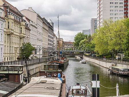 historic harbor berlin germany