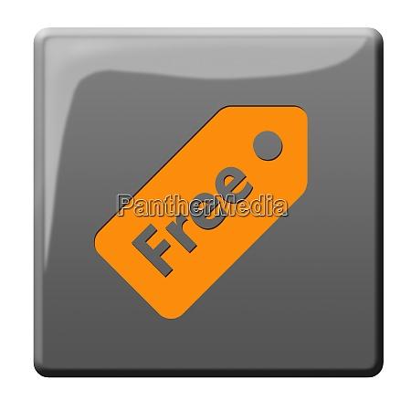 free 3d button