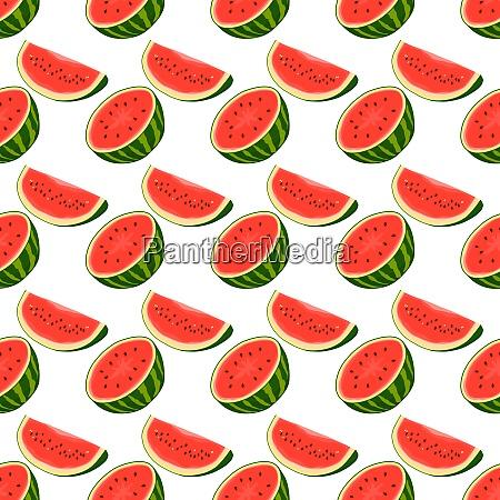 theme big colored seamless watermelon bright