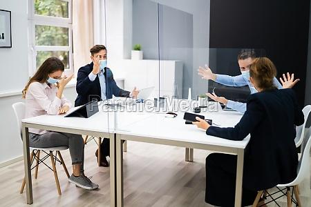 office employee pressure