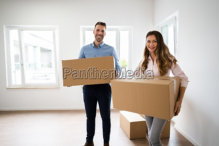 family relocation carrying boxes