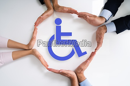 disabled icon worker injury and disability