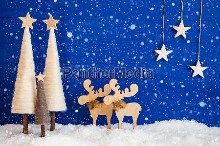 christmas tree moose snow star copy