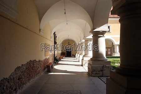 medieval cloisters and arches