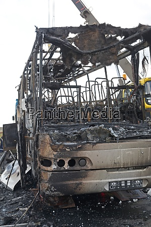inferno bus damage front