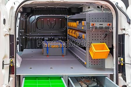 mobile workshop mini van