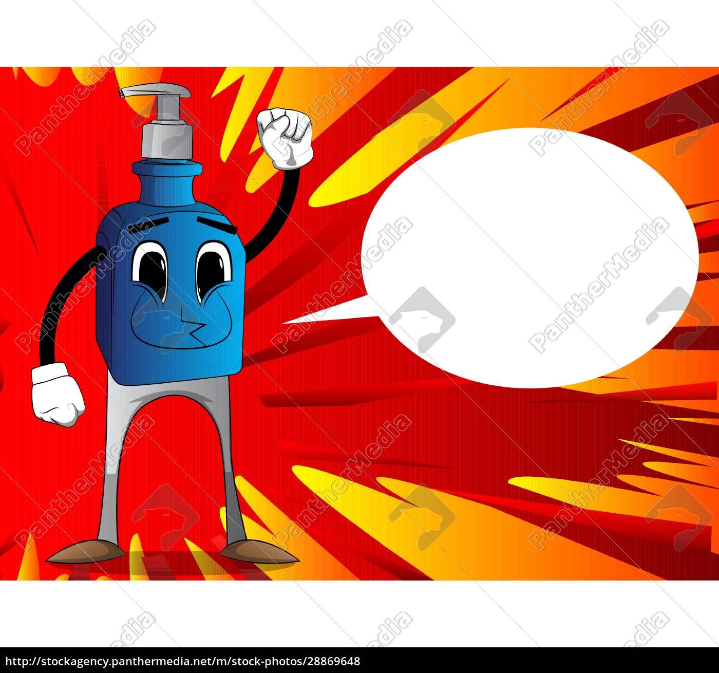 bottle, of, hand, sanitizer, making, power - 28869648