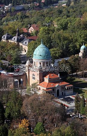 mirogoj cemetery in zagreb croatia
