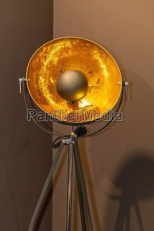 golden reflector lamp