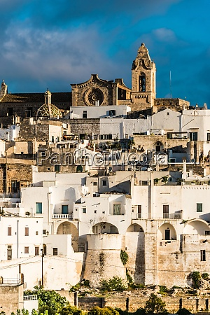 view of ostuni in the province