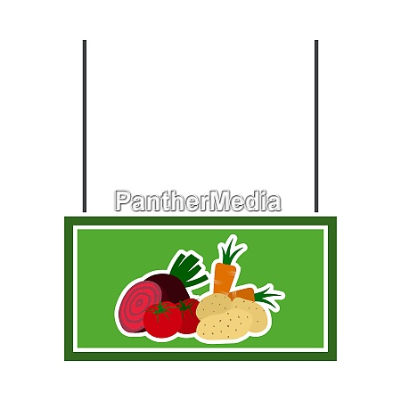 vegetables market department icon