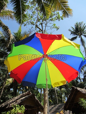 sunshade as protection against sunlight
