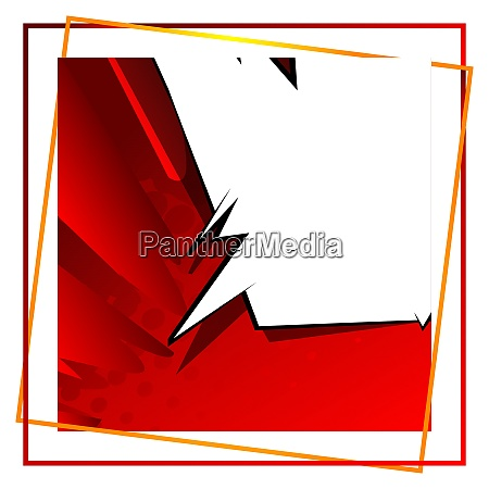 cartoon design colored background with frame