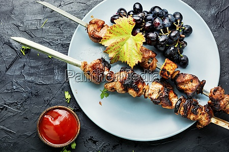 fragrant meat kebab