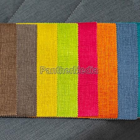 colour textile sampler